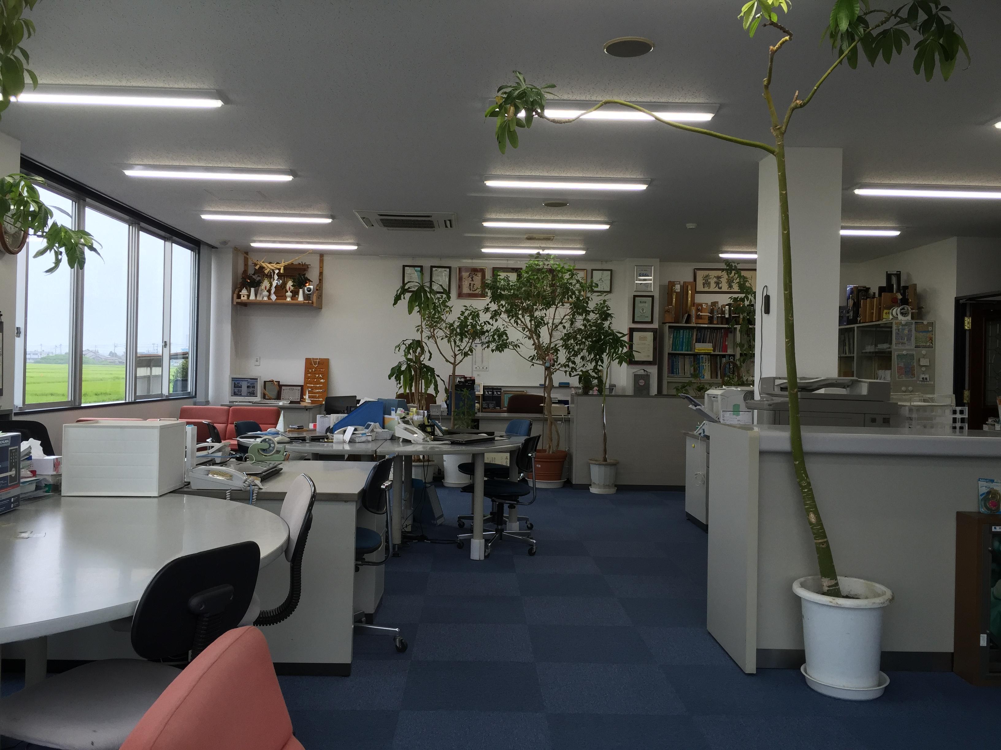 本社事務所改装工事 2015.8-1